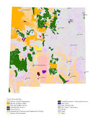 State Of New Mexico Map by New Mexico Department Of Game And Fish