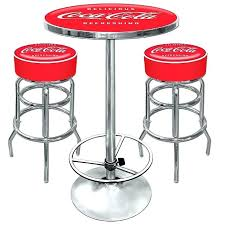 coca cola table and chairs interior design for coca cola table and chairs bar stools combo 2 in