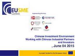 china cci chine investment environment working with industrial partne