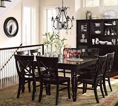 Awesome Dining Room Table Black Pictures Home Design Ideas - Black dining room furniture sets