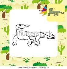 komodo dragon cartoon stock images royalty free images u0026 vectors