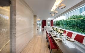 Villa Decoration by Architecture Interior Singapore Modern Villa By Mercurio Design