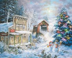 country christmas country christmas store jigsaw puzzle puzzlewarehouse