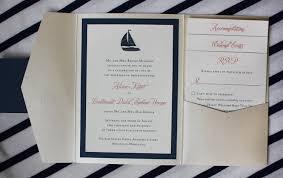 Easy Wedding Programs Nautical Wedding Invitation Vertabox Com