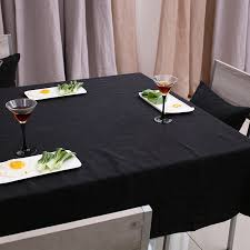 Black Linen Tablecloth Popular Black Linen Tablecloth Buy Cheap Black Linen Tablecloth