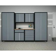 new age pro series cabinets new age cabinets pro series 8 piece garage storage cabinet set with