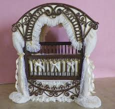 Miniature Crib Bedding Baby Crib Ooak 189 00 See Website For Details Www