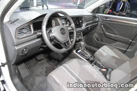 vw t roc dashboard at iaa 2017 indian autos blog