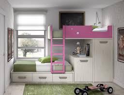 lit superposé bureau lit superposé pour enfant avec bureau et armoire amovibles