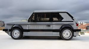 lego range rover lego volkswagen golf gti mk1 is the ultimate retro toy