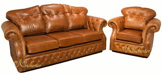 Traditional Chesterfield Sofa by Furniture Leather Suites