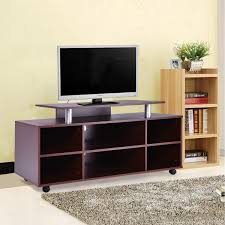Entertainment Storage Cabinets Wheeled Tv Stand Entertainment Center Media Console Storage
