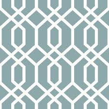 montauk lattice hemlock blue peel and stick wallpaper modern