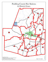 County Map Ga Paulding County Ga Stations