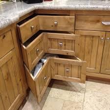 Kitchen Drawer Designs Amazing Corner Kitchen Cabinet For Lovely Kitchen Design Hickory