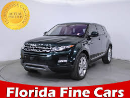 evoque land rover 2014 used 2014 land rover range rover evoque pure plus suv for sale in