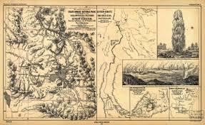 Map Of Yellowstone National Park Yellowstone National Park 1872 German Map Yellowstone Up Close