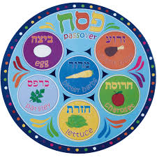 passover plate seder plate placemat by b leiner