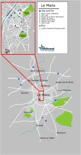 map of le mans le mans wikitravel