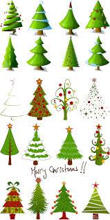christmas tree clipart free christmas lights decoration