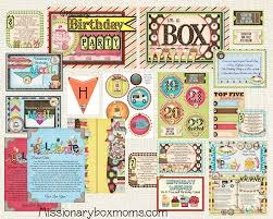 Birthday Care Package Missionary Care Package Kits U0026 Ideas Missionary Box Moms