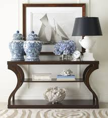 Living Room Table Accessories Style A Console Table Like A Pro With These 5 Designer Tips
