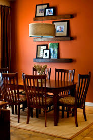 furniture glamorous orange dining room ideas modern home