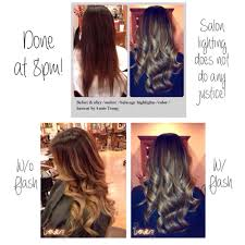 amazing hair transformation before u0026 after ombre balayage