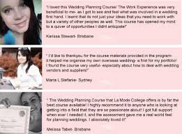 Wedding Planning Courses La Mode College Fashion Design Courses Fashion Courses Fashion