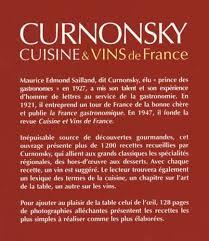 curnonsky cuisine et vins de cuisine et vins de amazon co uk curnonsky