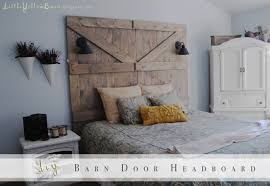 Diy Barn Doors by Diy Barn Door Headboard