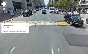 Boston Marathon Route Google Maps by Parablesblog April 2013