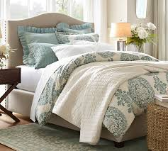 diy pottery barn upholstered bed