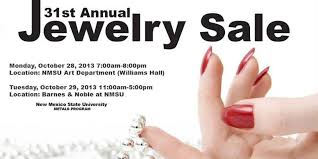 31st annual jewelry sale department of new mexico state