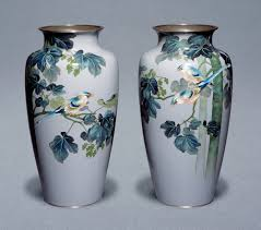 Enamel Vase History Of Cloisonné In Japan Victoria And Albert Museum
