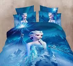 Frozen Bed Set Blue Color Frozen Elsa Bedding Set S Children S Bedroom Decor
