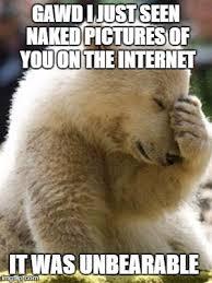 Bear Memes - facepalm bear memes imgflip