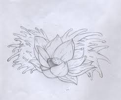 lotus flower tattoo design by bunnysuit93 on deviantart
