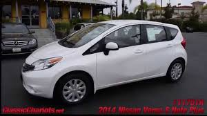 nissan versa note 2014 used 2014 nissan versa note s plus for sale in vista at classic