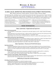 Sales Marketing Resume Sample by Business Business Marketing Resume