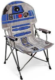 Foldable Armchair Star Wars R2 D2 Folding Armchair Thinkgeek