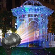 Projector Lights For Christmas by Amazon Com Escolite Landscape Lights Rgb Christmas Laser Lights