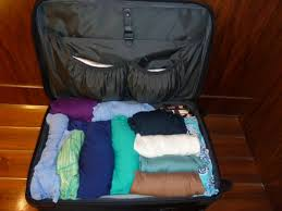 How to pack your suitcase to avoid wrinkles