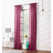 Tie Top Curtains Cotton by Your Zone Expressions Tie Top Curtains Decoration And Curtain Ideas