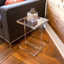 minimalist side table acrylic bedside tables callforthedream com
