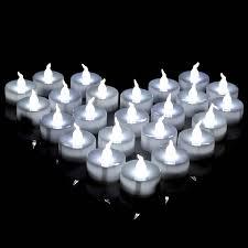 led tea lights battery life agptek lot 24 battery operated led cool white tea light candle