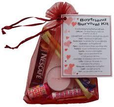 boyfriend survival kit gift great novelty present for valentines