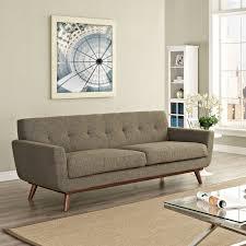 Upholstered Loveseat Chairs Modway Engage Upholstered Sofa Hayneedle