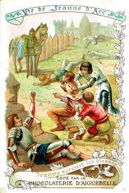 joan of arc of heaven joan of arc trading card wounded