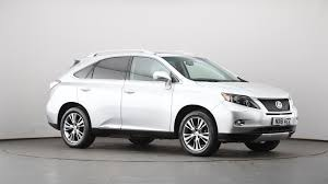 cvt lexus used lexus rx 450h 3 5 advance 5dr cvt auto sunroof silver